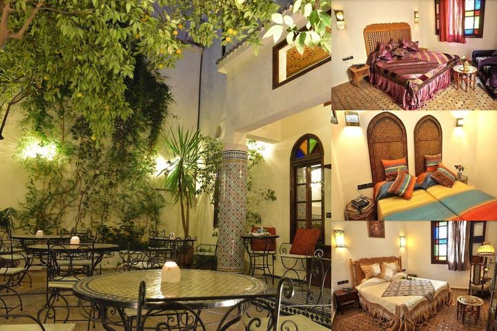 Riad Jardin Chrifa photo collage