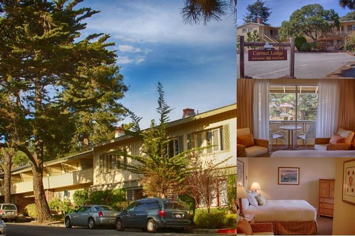 Carmel Lodge photo collage