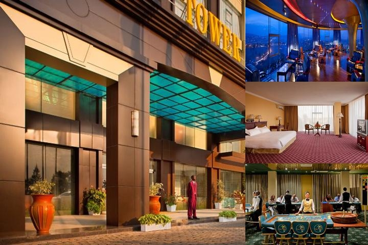 Toptower Hotel photo collage