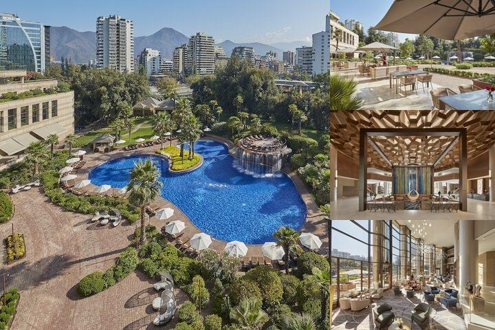 Grand Hyatt Santiago photo collage