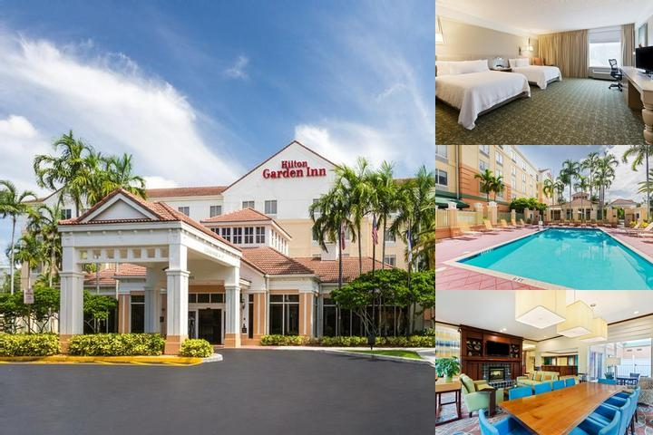 Hilton Garden Inn Ft. Lauderdale Sw / Miramar photo collage