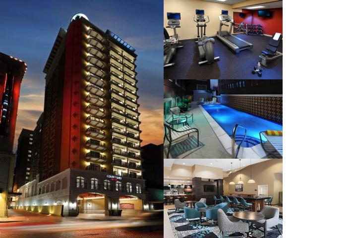 Courtyard Marriott Riverwalk photo collage