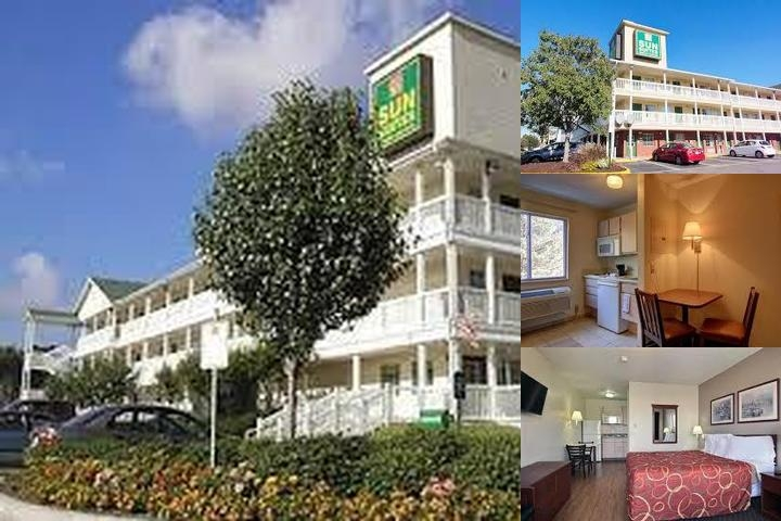 Sun Suites of Houston Clear Lake Hobby Airport photo collage