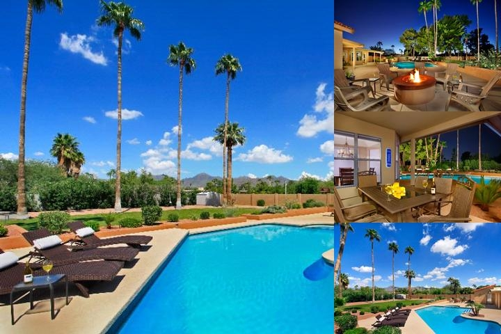 Arizona Vacation Rental Scottsdale 101 photo collage