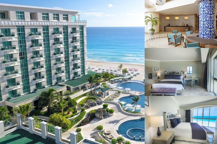 Sandos Cancun Luxury Resort photo collage