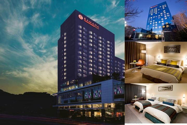 Ramada Plaza Suwon Hotel photo collage