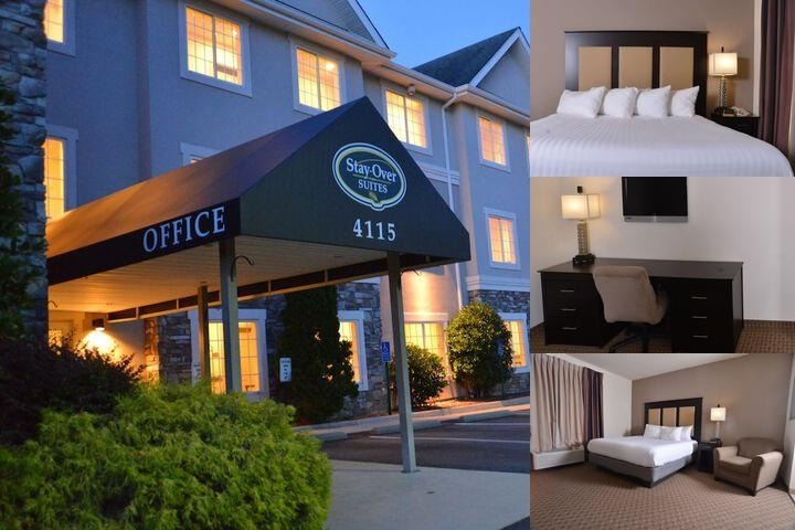Stay Over Suites photo collage