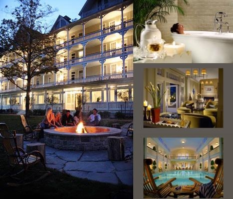 Omni Bedford Springs Resort photo collage