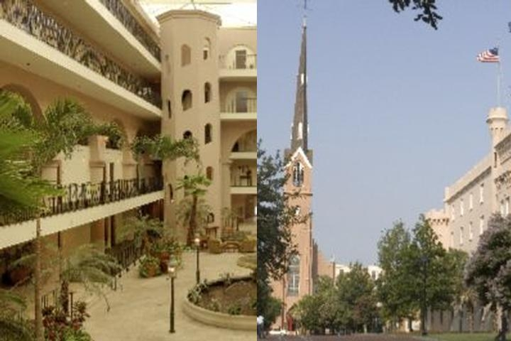 Embassy Suites Historic Charleston photo collage