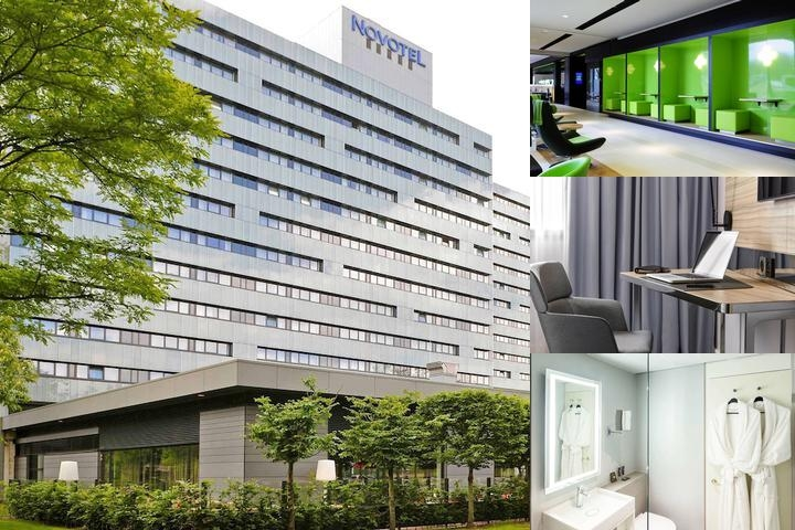 Novotel Amsterdam City photo collage