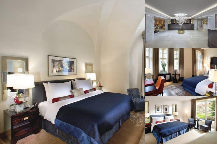 Mandarin Oriental Prague photo collage