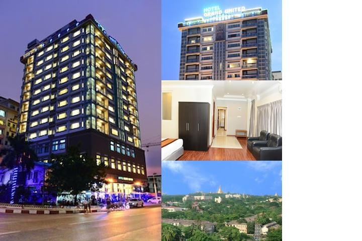 Hotel Grand United (Ahlone Branch) photo collage