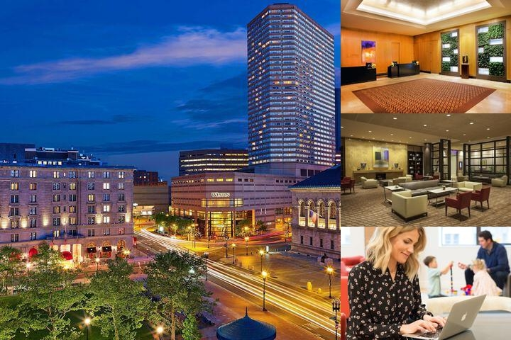 Westin Copley Place photo collage
