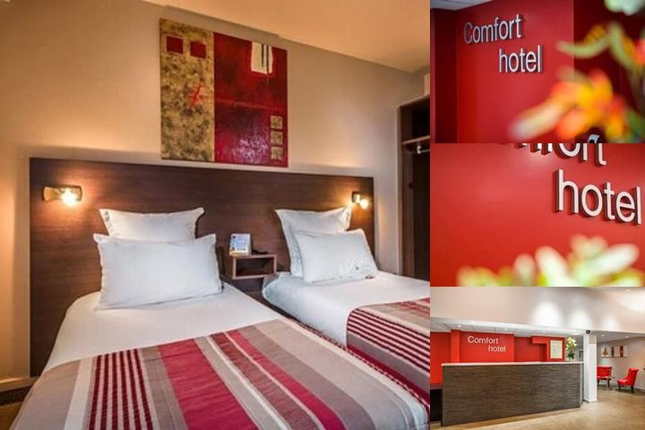 Comfort Hotel Champigny Sur Marne photo collage