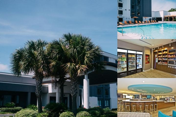 Courtyard by Marriott Gulfport Beachfront photo collage