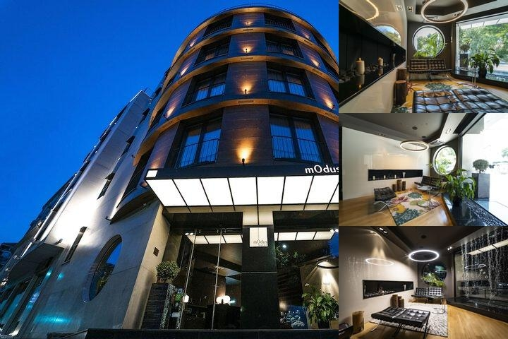 Modus Hotel photo collage