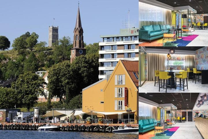 Thon Hotel Tønsberg Brygge photo collage
