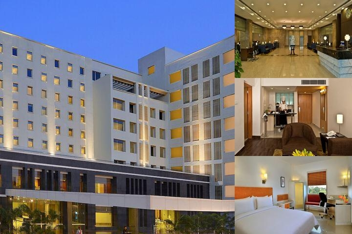 Optus Hometel Bhiwadi photo collage