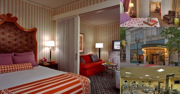 Hotel Monaco Portland photo collage