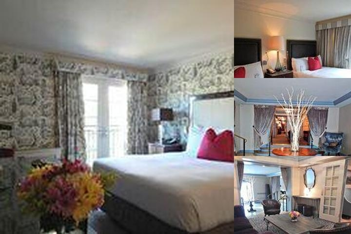 The Normandy Hotel photo collage