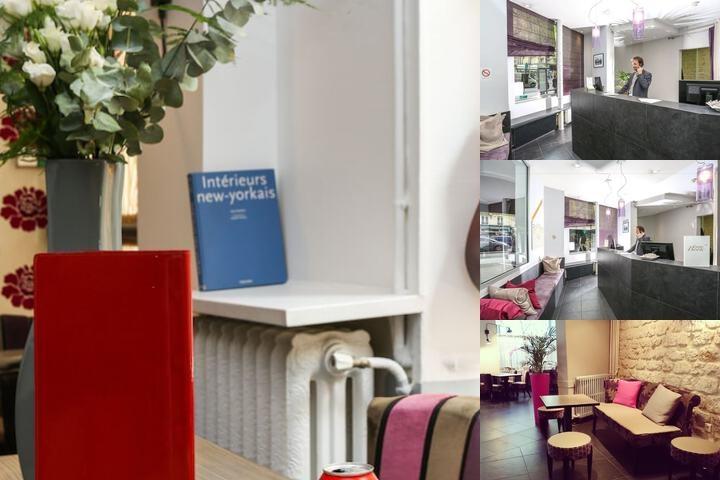avalon hotel photo collage