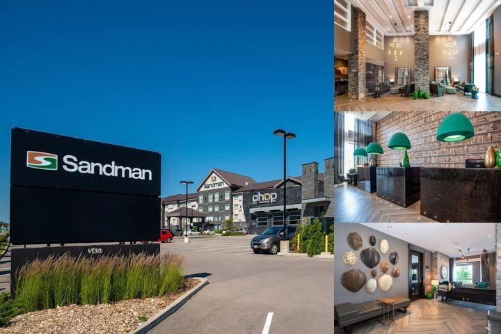 Sandman Hotel Oakville photo collage