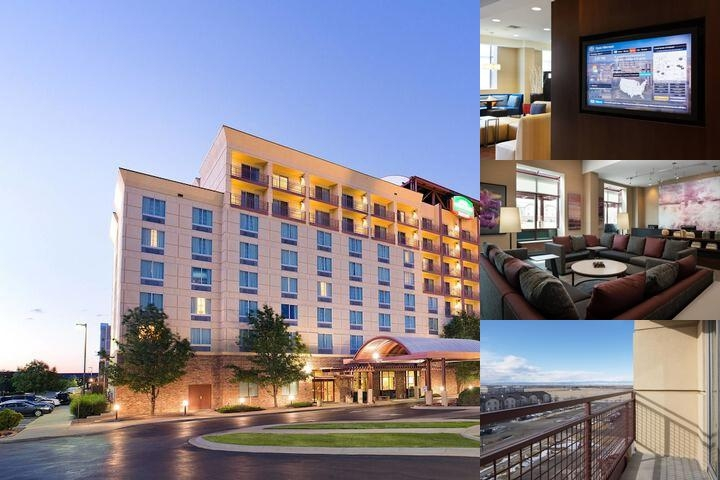 Denver Airport Courtyard Hotel photo collage