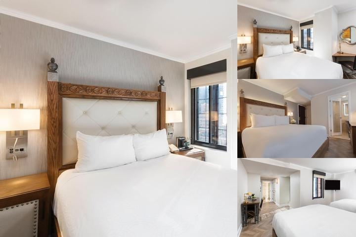 The Hilton Manhattan East photo collage