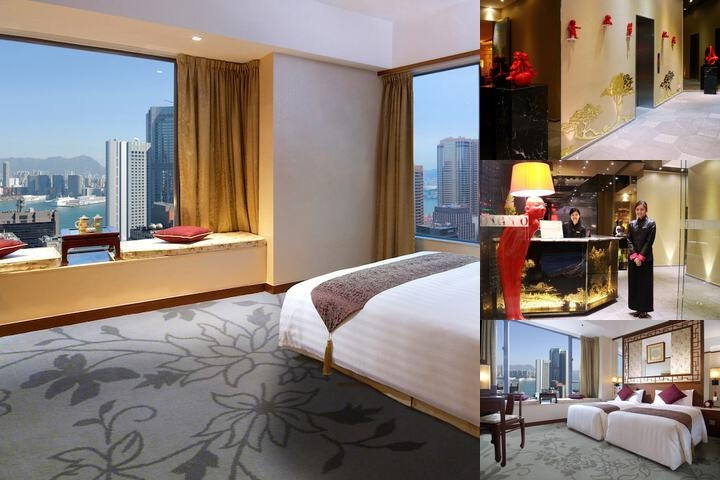 Lan Kwai Fong Hotel at Kau U Fong photo collage