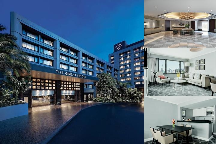 The Langham Auckland photo collage