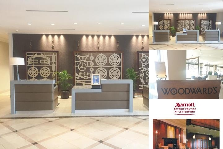 Marriott Auburn Hills Pontiac at Centerpoint photo collage
