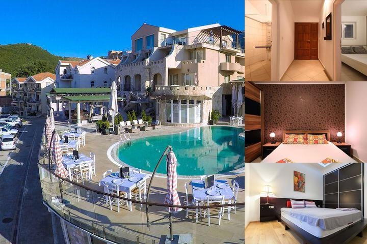 Spa Resort Becici photo collage