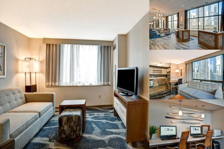 Homewood Suites by Hilton Chicago Downtown photo collage