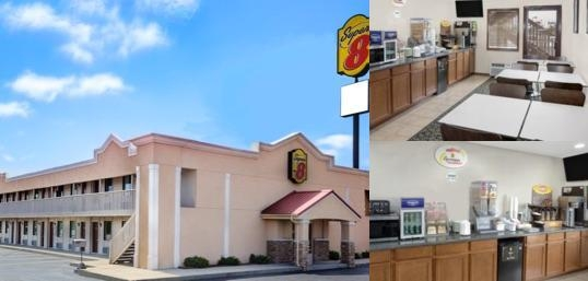 Super 8 Lafayette photo collage