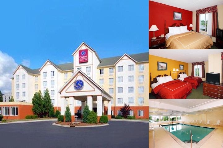 Comfort Suites Concord photo collage