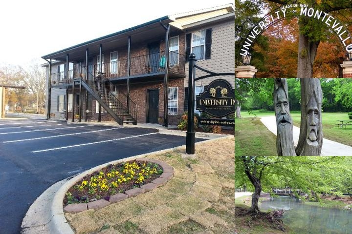 University Inn Suites photo collage