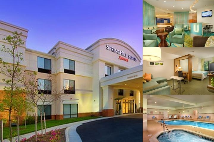 Springhill Suites Alexandria photo collage