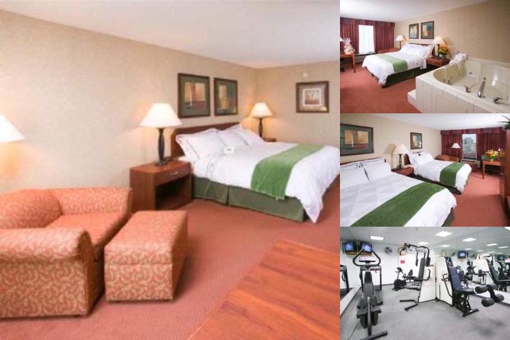 Akron City Center Hotel photo collage