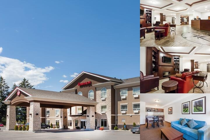 Ramada Creston photo collage