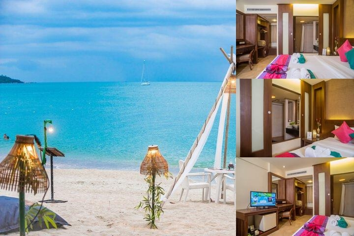 Samui Sense Beach Resort photo collage