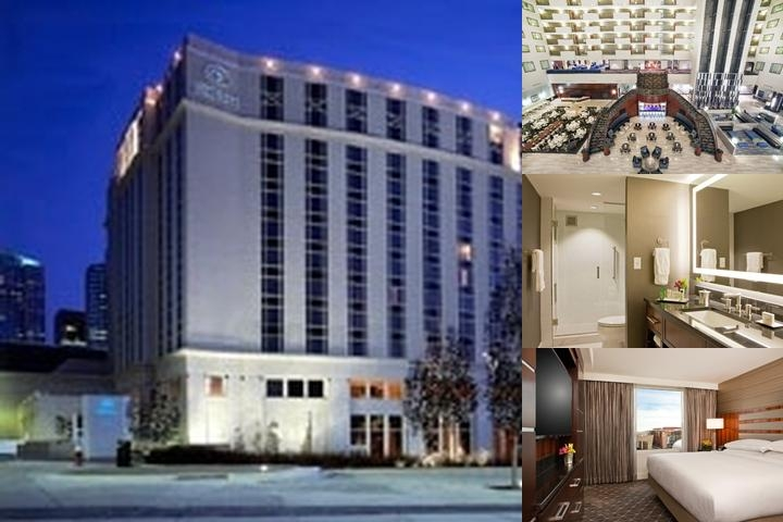 Hilton Nashville Downtown photo collage