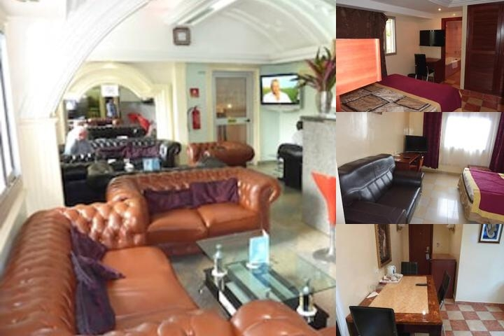 Somatel Hotel Douala photo collage