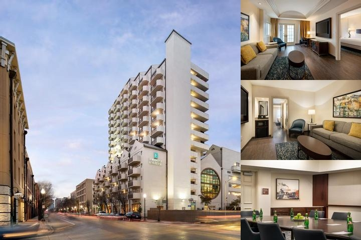 Embassy Suites Hotel New Orleans & Lofts Club Towe photo collage
