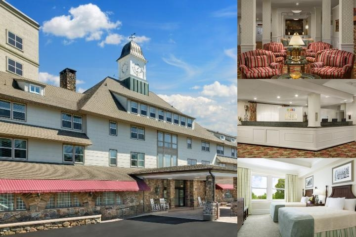 The Inn at Pocono Manor photo collage