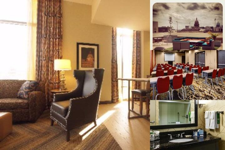 Hampton Inn & Suites at the Capitol / University photo collage
