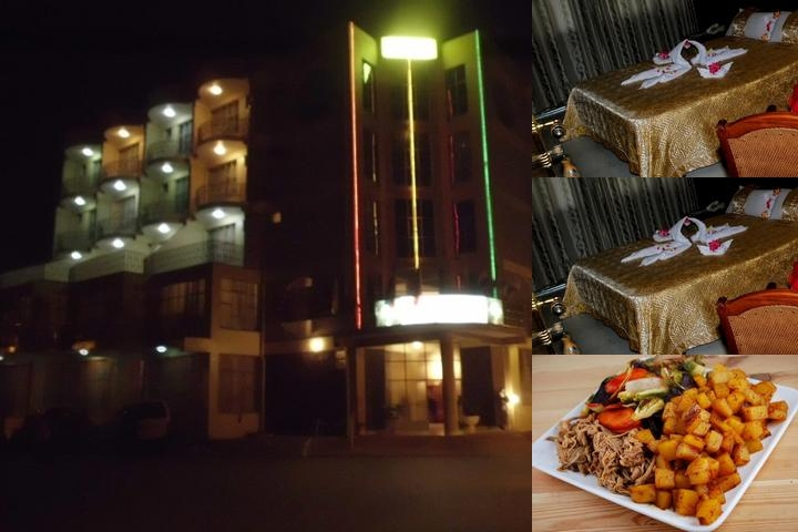 Blue Nile Hotel photo collage