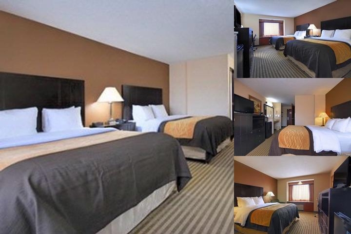 The Comfort Inn photo collage
