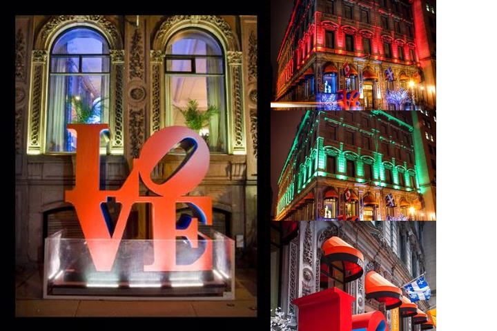 Lhotel Montreal photo collage
