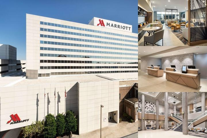 Greensboro Marriott Downtown photo collage