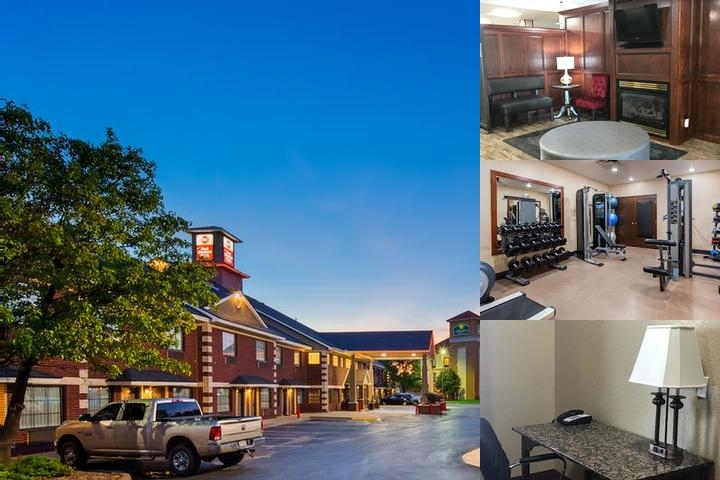 Best Western Plus Yukon photo collage